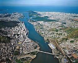 Ponte de Vitoria a Vila Velha - Espirito Santo - Brasil