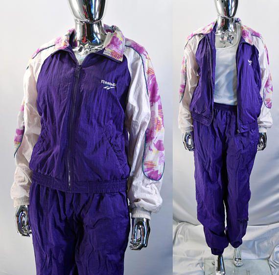97c093403ea28 Retro Full 80s / 90s Women's Track Suit By Reebok Size | 80s ...