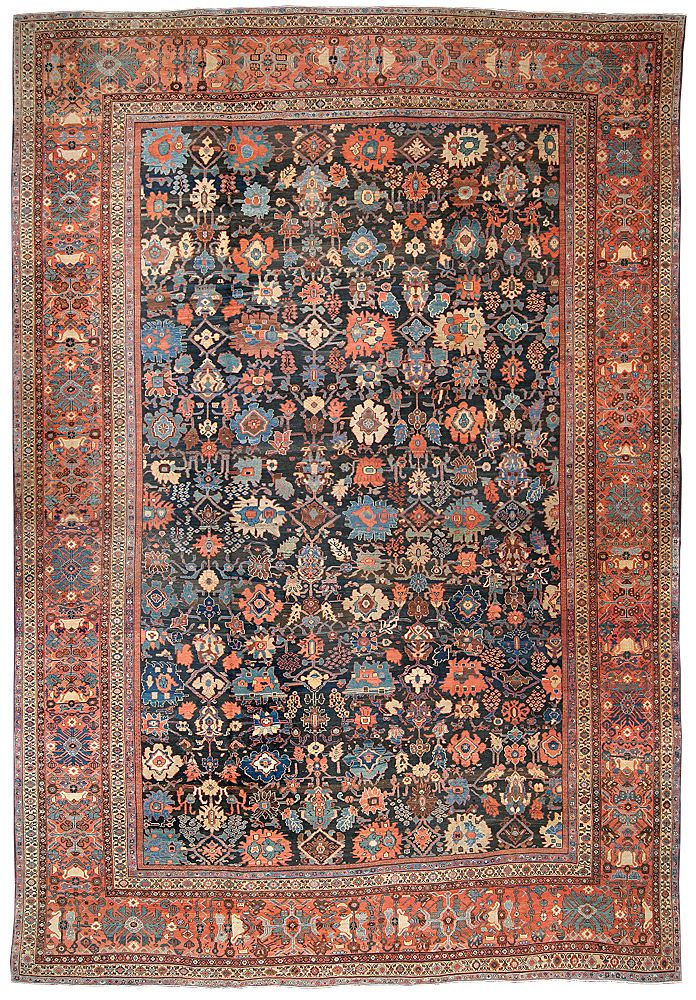 Tajzoy Oriental Rugs Type Antique Sultanabad Size X