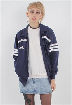 Vintage Adidas Track Jacket | Jackets, Fashion, Retro fashion