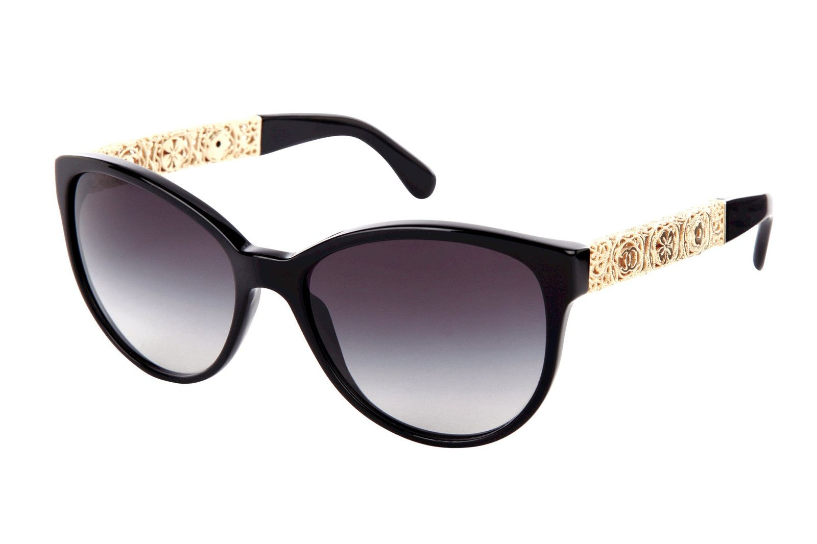 2bce1aa5bc653 Better Than Rose-Tinted Glasses  These New Chanel Sunglasses  refinery29