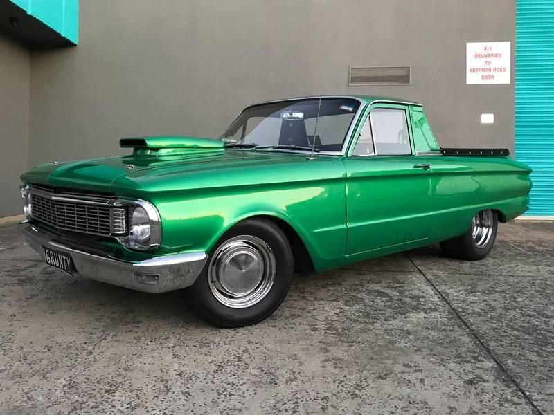 Grunty A Very Tuff Ford Xp Falcon Ute Supercharged 347ci Dart Block Windsor 560bhp C10 Full Manualized Race Trans Tubbed 9 I Ford Falcon Ford Ute