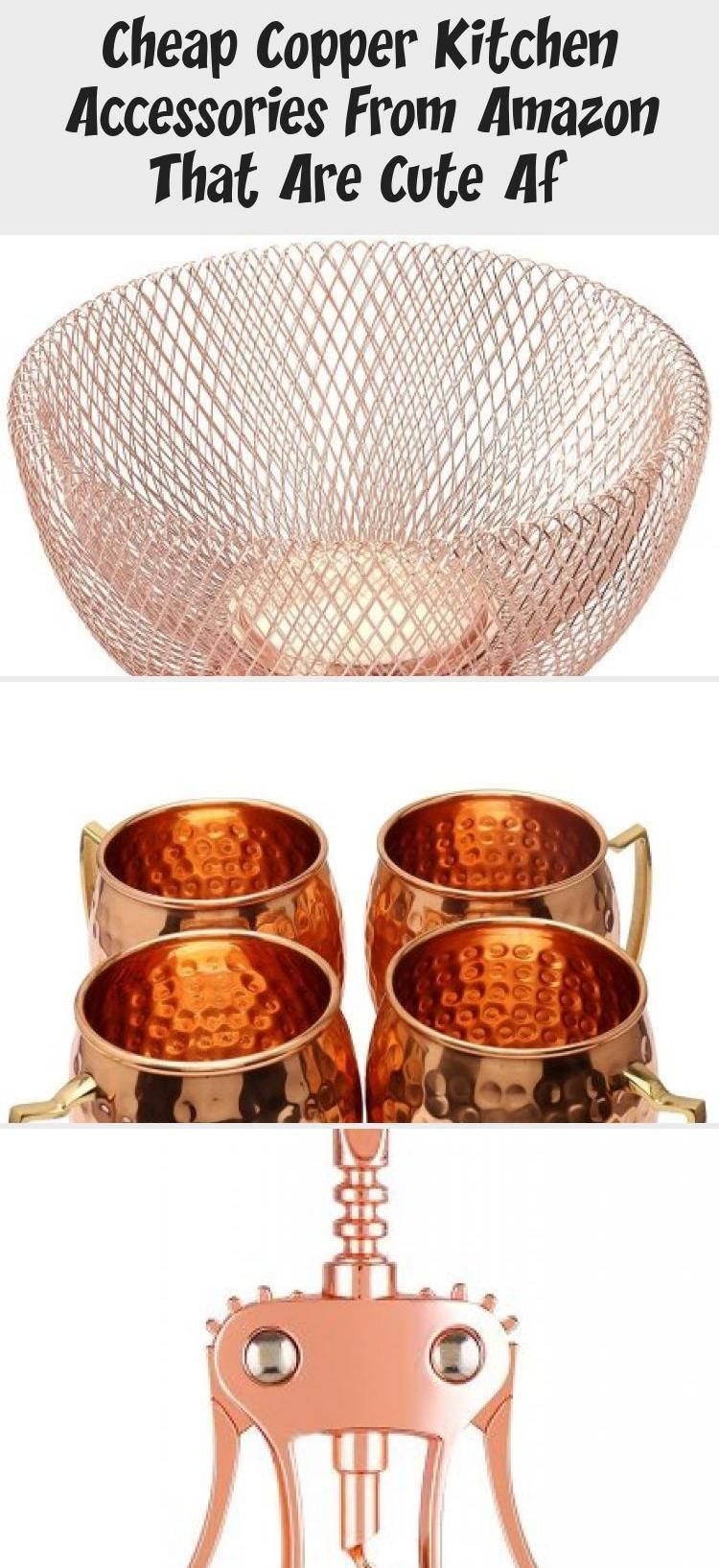Cheap Copper Kitchen Accessories From Amazon That Are Cute Af #copperkitchenaccessories These copper kitchen accessories add a diversity in material against this kitchen shelving and back splash tile. #copperkitchen #kitchenaccessories #copperkitchenaccessories #copperpans #copperkitchenware #kitchenaccessoriesDesign #Creamkitchenaccessories #kitchenaccessoriesFabric #Coolkitchenaccessories #Marblekitchenaccessories #copperkitchenaccessories Cheap Copper Kitchen Accessories From Amazon That Are #copperkitchenaccessories