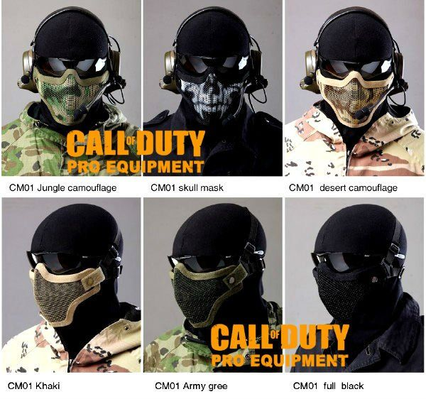 Call of Duty Pro Equipment Gen2 Metal Mesh Lower Half Mask