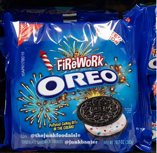 Chocolate Cookes N Cream Dunmore Candy Kitchen: OREO Firework...popping Candy Bit In Creme