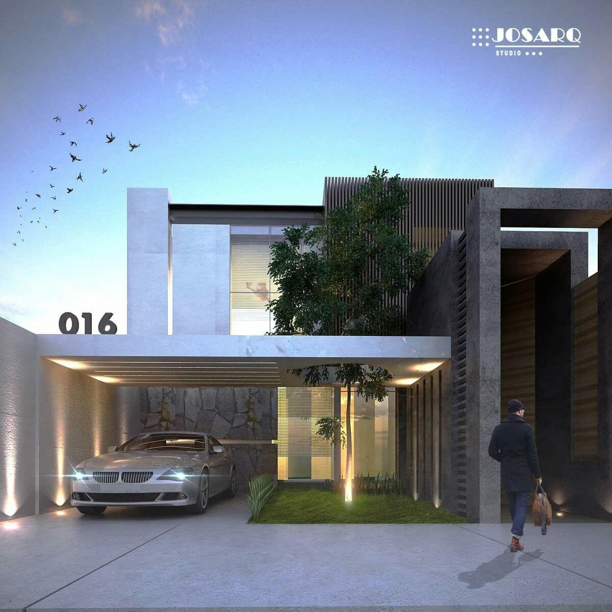 Pin von Eliany Aruachan auf Frentes de casas | Pinterest | Moderne ...