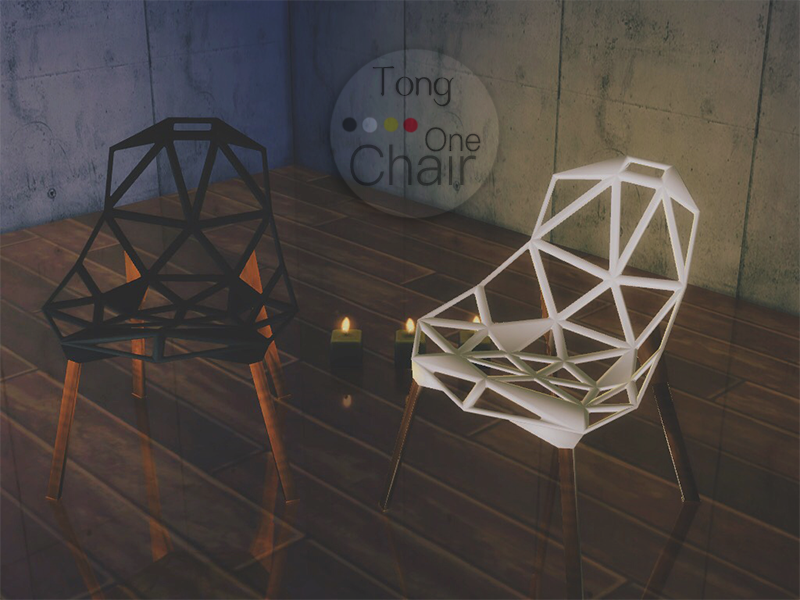 Magis Chair OneDetail & DL(SimsWay) • 禁止二次分享,私下分享请不要让我得知,禁止以任何名义商业化我的任何作品。 • SimsTong/小同/小同君/Tong 所标注的所有作品均具有Copyright©版权法律保护。