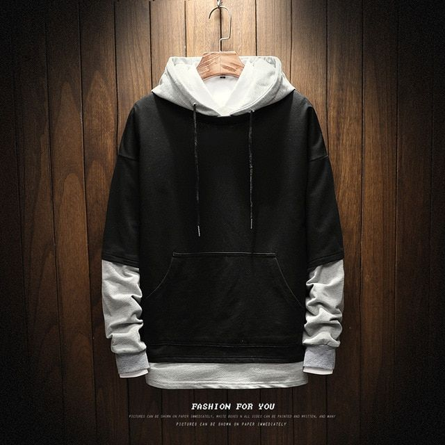 Spring New Hoodies Men Fashion Fresh Campus Style Solid Color Loose Wild Hooded Pullover Man Streetwear Swea Hoodie Outfit Men Men S Fashion Brands Hoodies Men