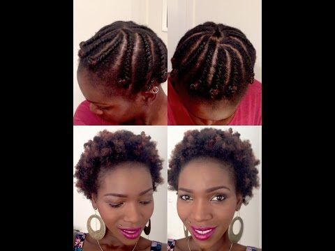 Two Strand Twist Flat Twist Style On Short Fine 4c Natural Hair Mona B Youtube Natural Hair Styles Fine Natural Hair Flat Twist Styles