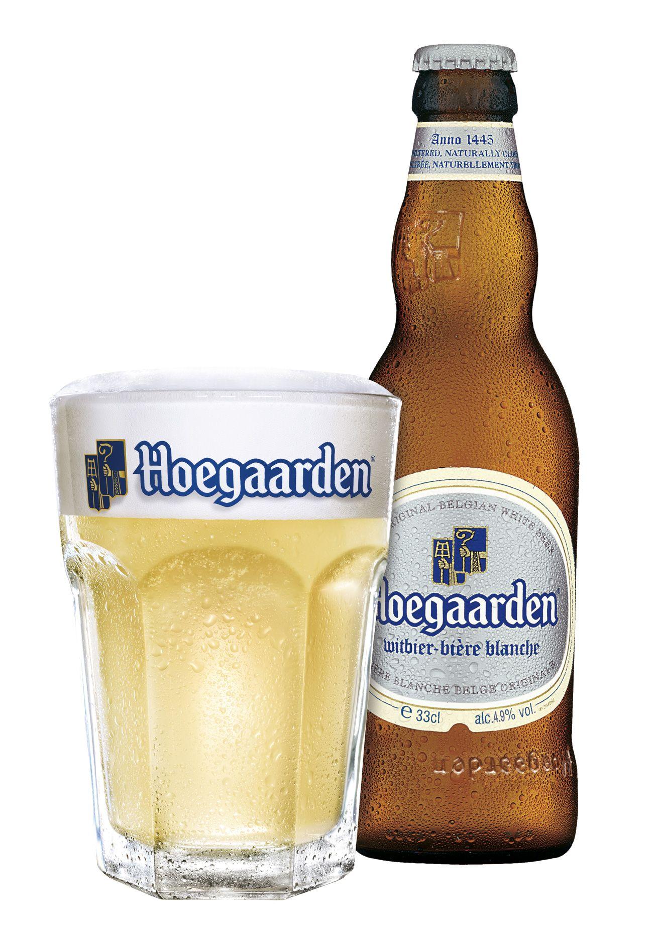 hoegaarden white ale beer