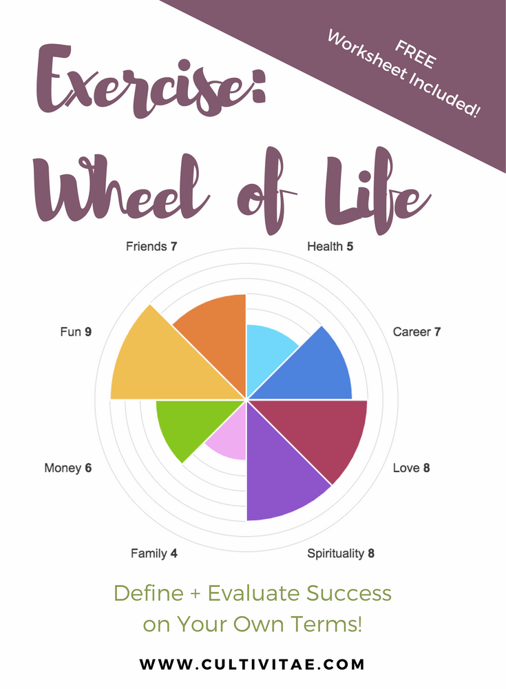 Wheel Of Life Exercise: Define Success On Your Own Terms  How Do You Evaluate Success