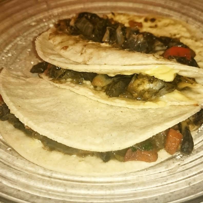 Quesadillas con huitlacoche :)