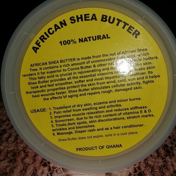 African shea butter for dark spots