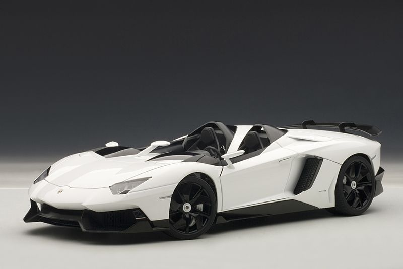 Charmant Silent Autos, The Home Of Model Cars Brings You This Lamborghini Aventador J  White Diecast Model Car By AUTOart In Stock At The Moment.
