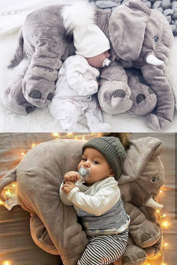 Don't you like to fall asleep on a soft, cloud-like pillow? Now feel comfortable and fall asleep quickly with this Baby Elephant Pillow. #babypillownewborn #babypillowdiy #babypillowpersonalized #babypillowcar #babypillowbed #babypillowpattern #babypillowsleeping