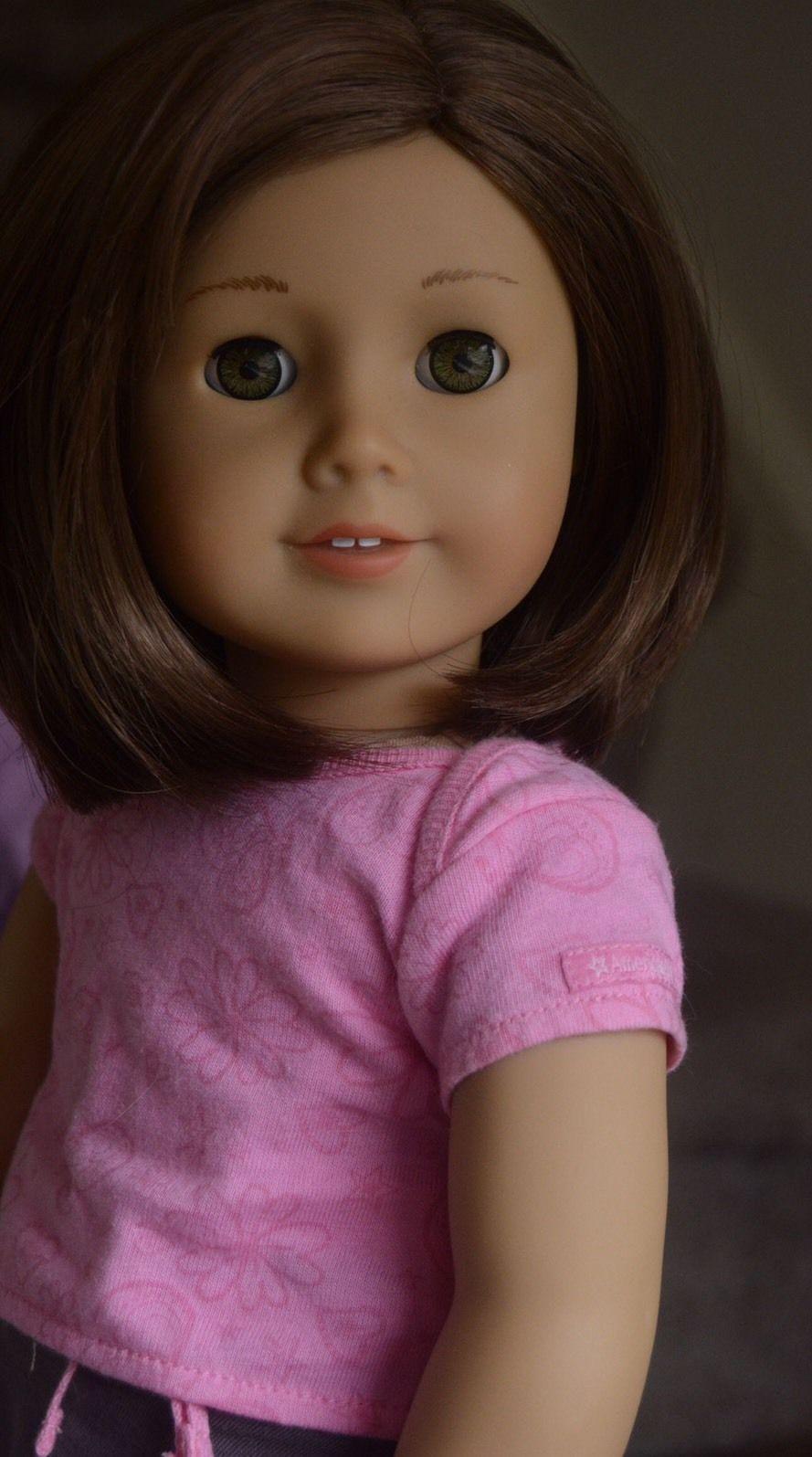 Custom Adorable American Girl Truly Me 57 With Hazel Eyes