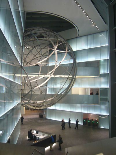 Deutsche Bank Sphere, Frankfurt, Germany by Mario Bellini