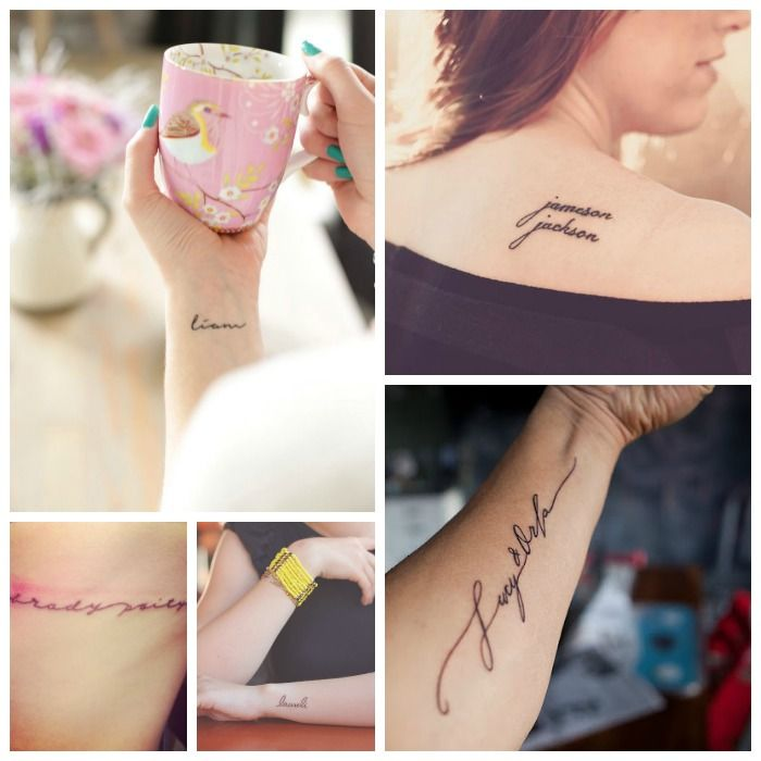 12 Incredibly Sweet Tattoo Ideas For Moms Tattoos For Kids Name Tattoos For Moms Mom Tattoos