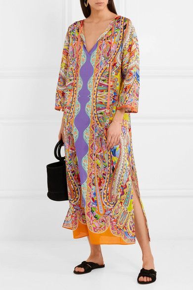b2e1334ef Etro - Nisyros printed cotton kaftan | Shirts | Cotton kaftan ...