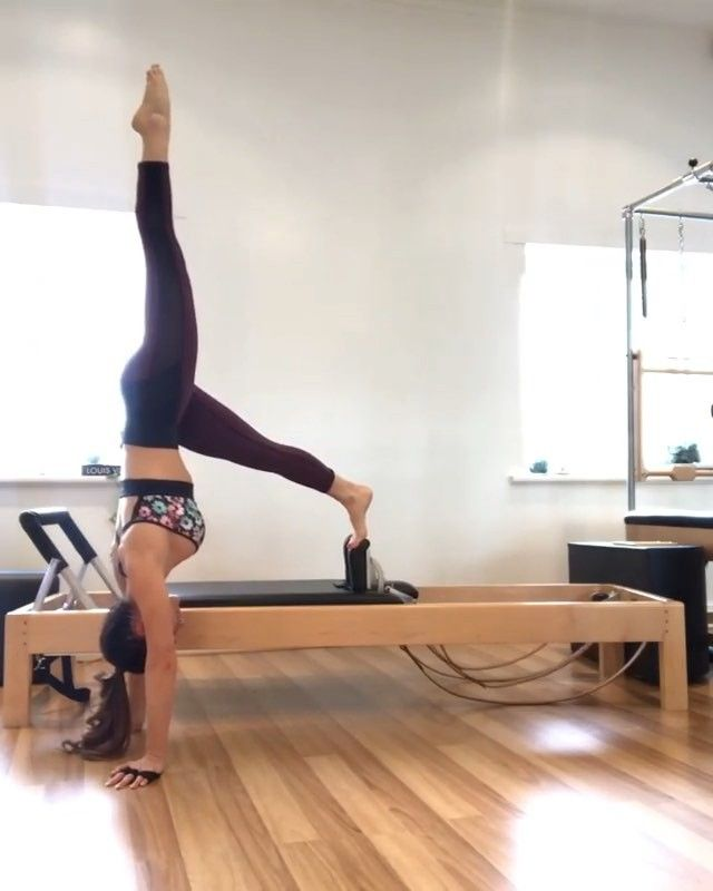 """Pilates TV on Instagram: """"S T R E N G T H E N • � ️ I was a little over ambitious with the spring load here � my shoulders! � Pilates has the ability to enhance the…"""""""