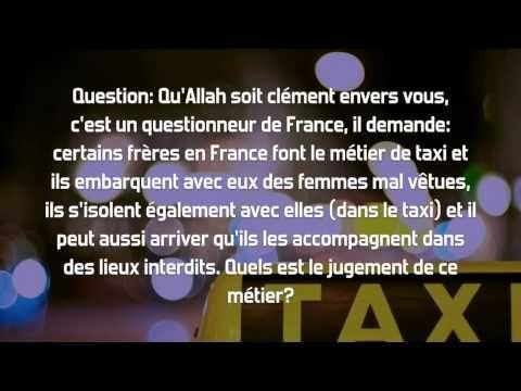 Exercer Le Metier De Taxi En France Sheikh Al Fawzan Version Corrigee Taxi France Metier