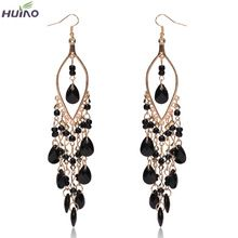 Earings Promotion Direct Selling Women Brincos Sterling Jewelry 2015 Newest Arrival Peacock Shape Long Tassel Drop Earrings //Price: $US $1.14 & FREE Shipping // #onlineshopping #nadmartonline #shopnow #shoponline #buynow