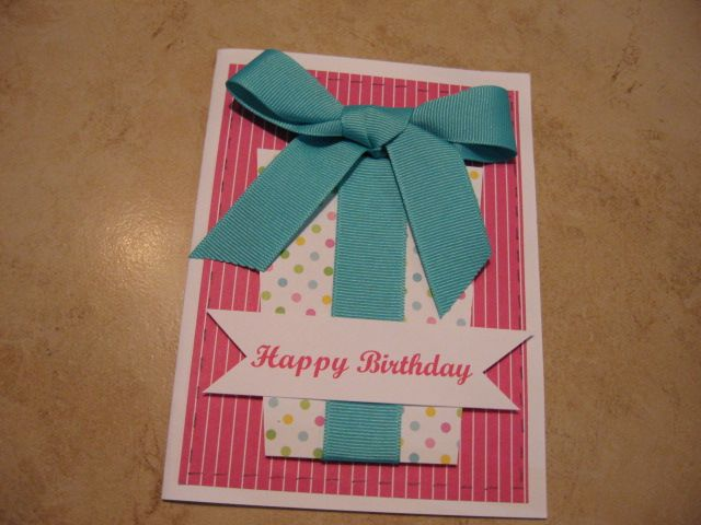 cute easy birthday card  simple birthday cards happy