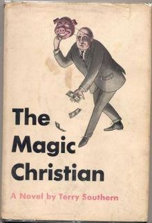 First edition of The Magic Christian by Terry Southern, 1959.