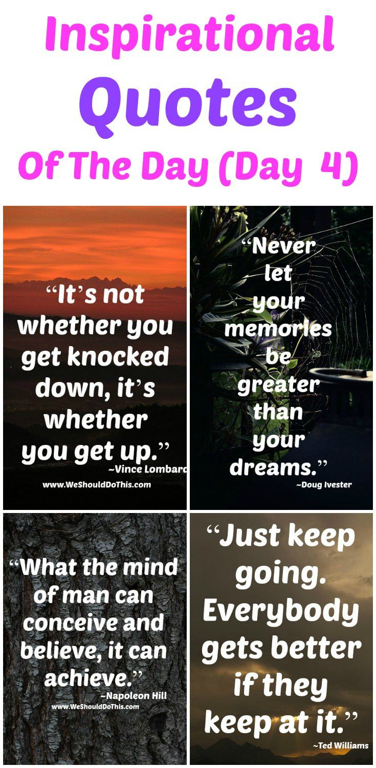 Life Changing Inspirational Quotes Inspirational Quotes Of The Day  Day 4  Wisdom Quotes