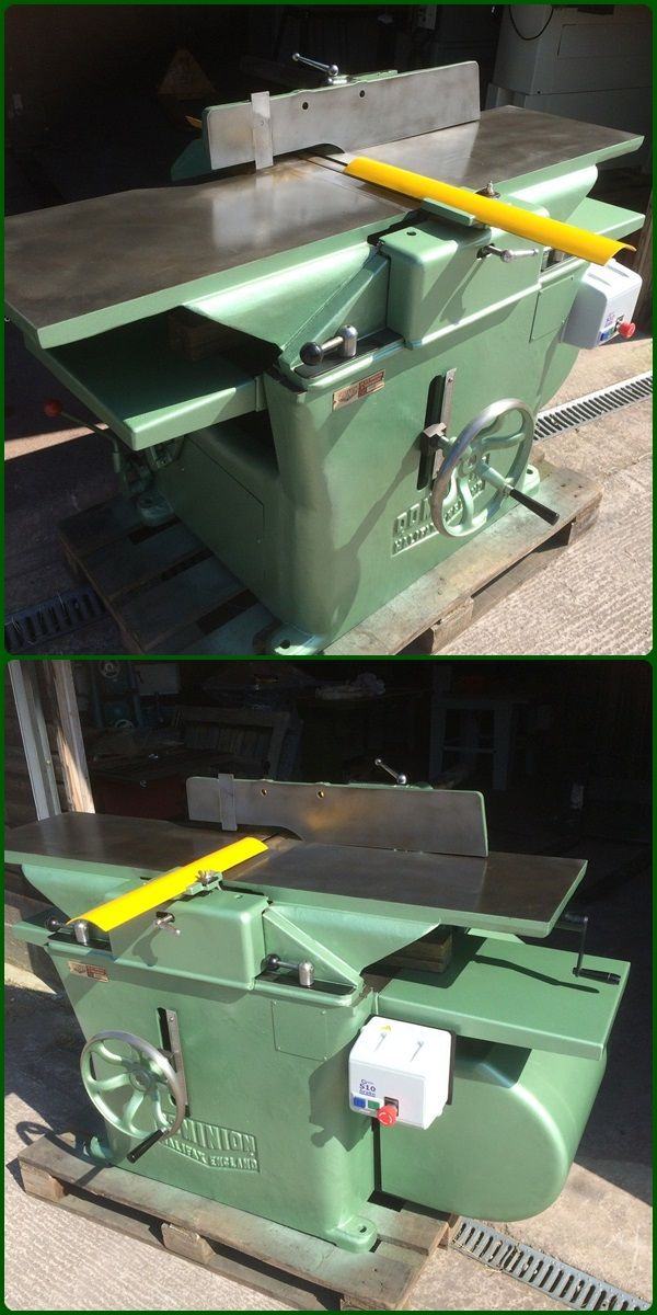 16 x 9 inch planer thicknesser dominion with brake unit vintage unit 265000 httpebay itm16 x 9 inch planer thicknesser dominion brake unit 171762450855ptlhdefaultdomain3hashitem27fdd701a7 greentooth Gallery