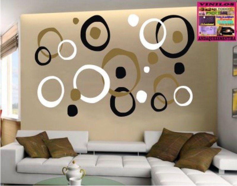 vinilos decorativos para salas pequeas Buscar con Google