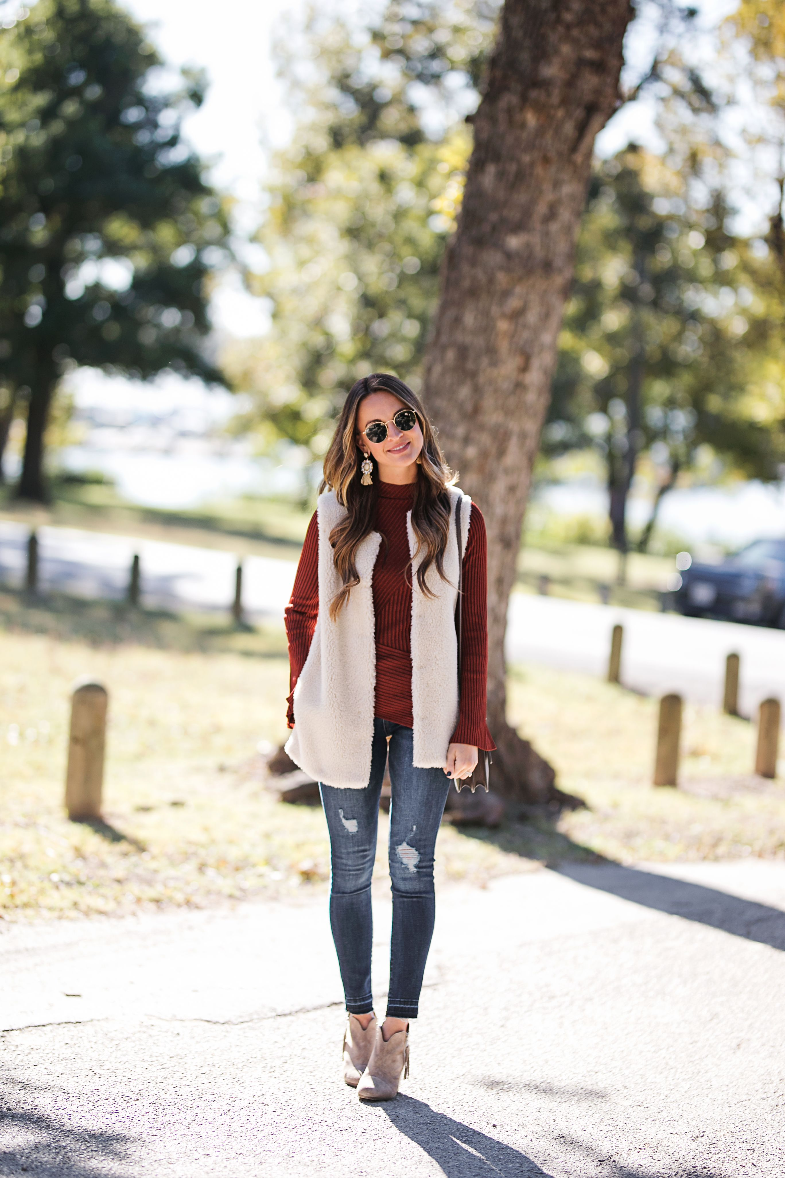 lauren sims thanksgiving outfit ideas  Casual thanksgiving