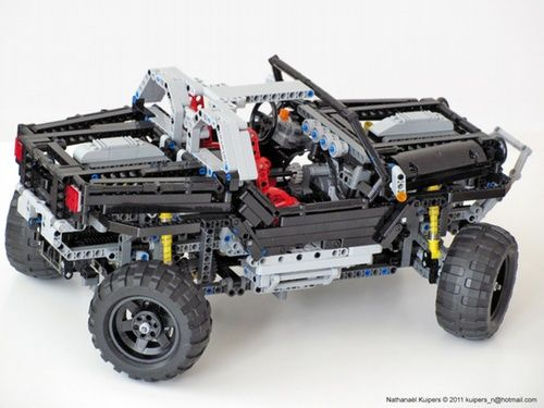 Jeep Hurricane A Lego Creation By Nathanael Kuipers Mocpages