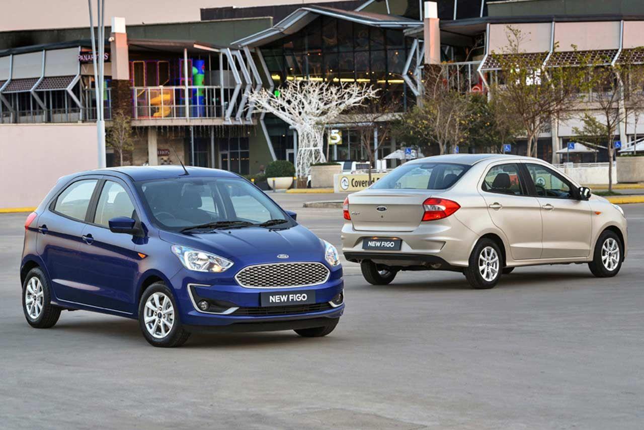 2018 Ford Figo Hatchback Sedan Revealed In South Africa Sedan