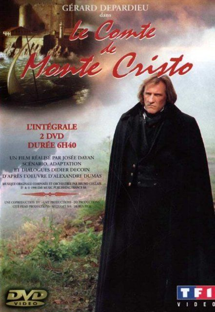 Le Comte De Monte Cristo 1998 Foreign Movie The Classic Tale From Alexandre Dumas Edmond Dantes Is Unjustly Sent To Prison For 1 Locandine Di Film Film Dvd