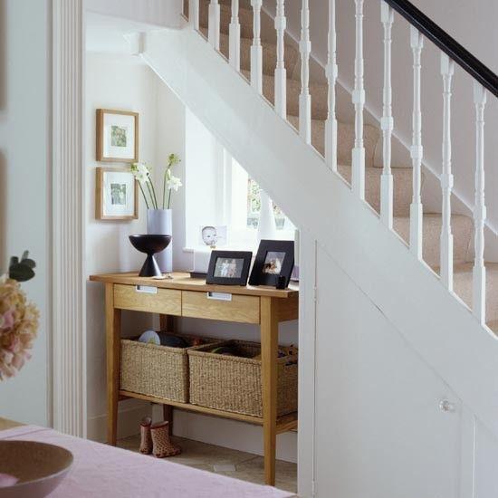 Hallway With Understairs Storage: Small Hallway Furniture