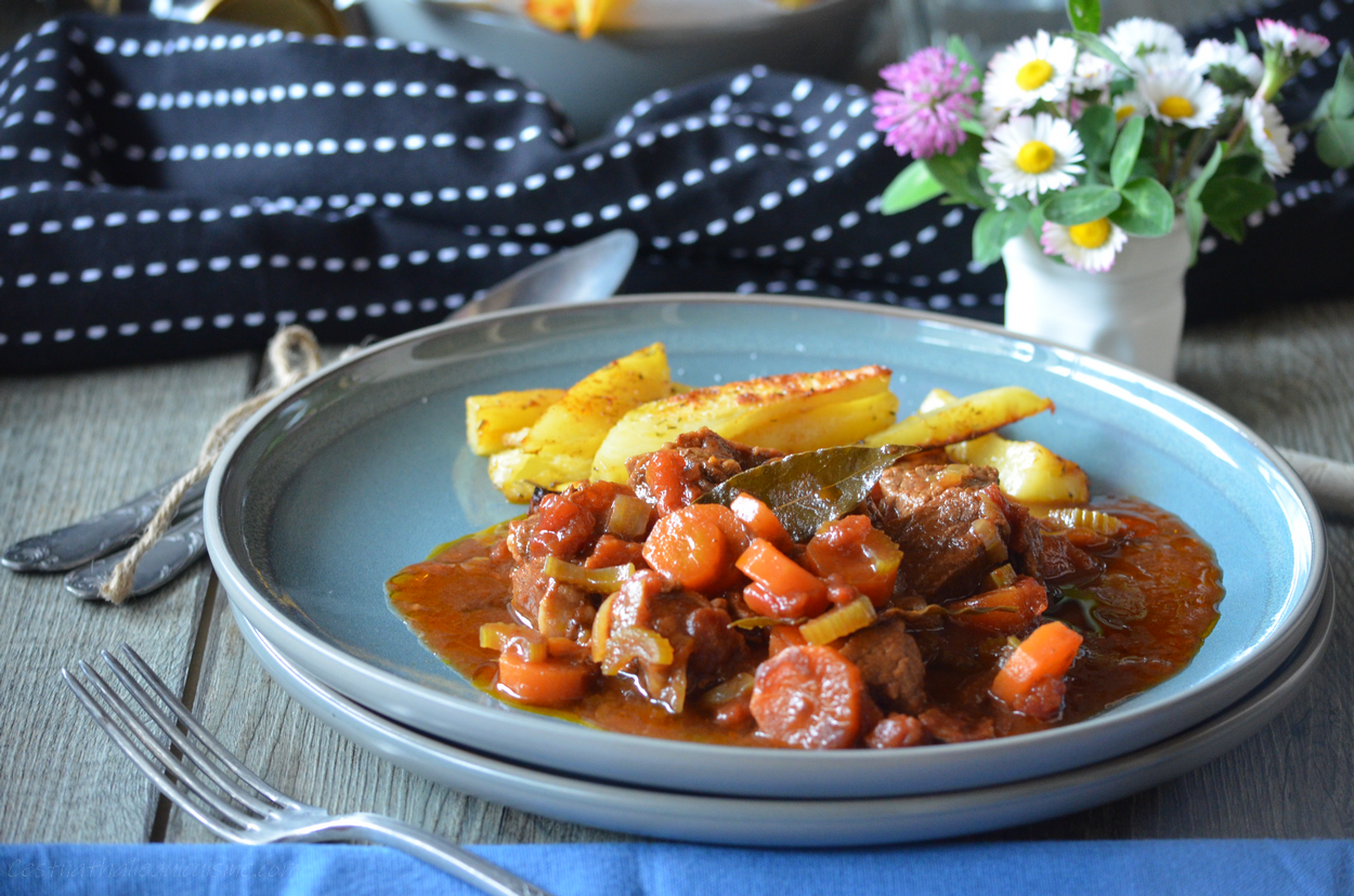 Photo of A recipe for beef stew with beer that changes a little …