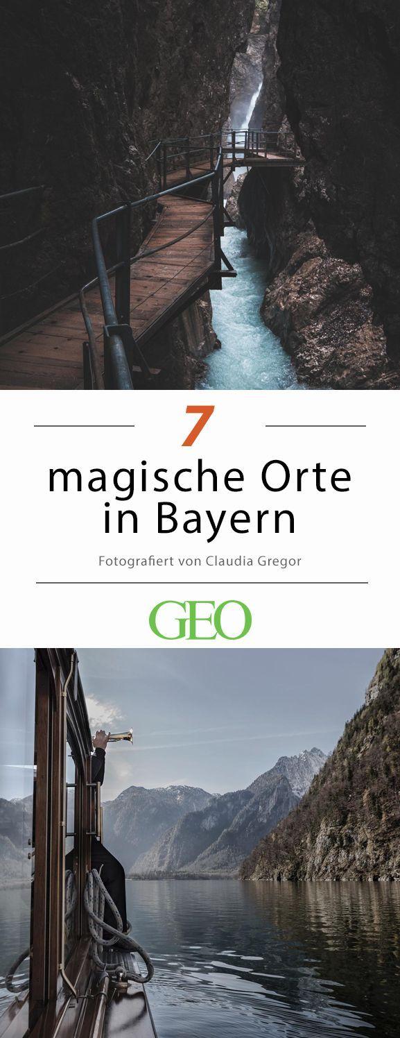 Magische Orte in Bayern #vacationdestinations