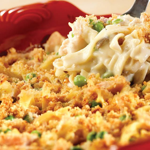 crowd-pleasing tuna noodle casserole recipe | yummly