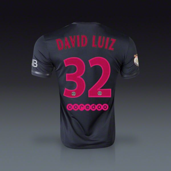 69d0e60db Nike David Luiz Paris Saint-Germain Third Jersey 15 16