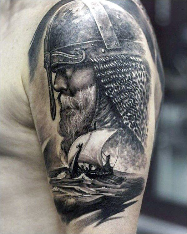 Tattoo Symbols and What They Mean in 2020 | Viking ship ...