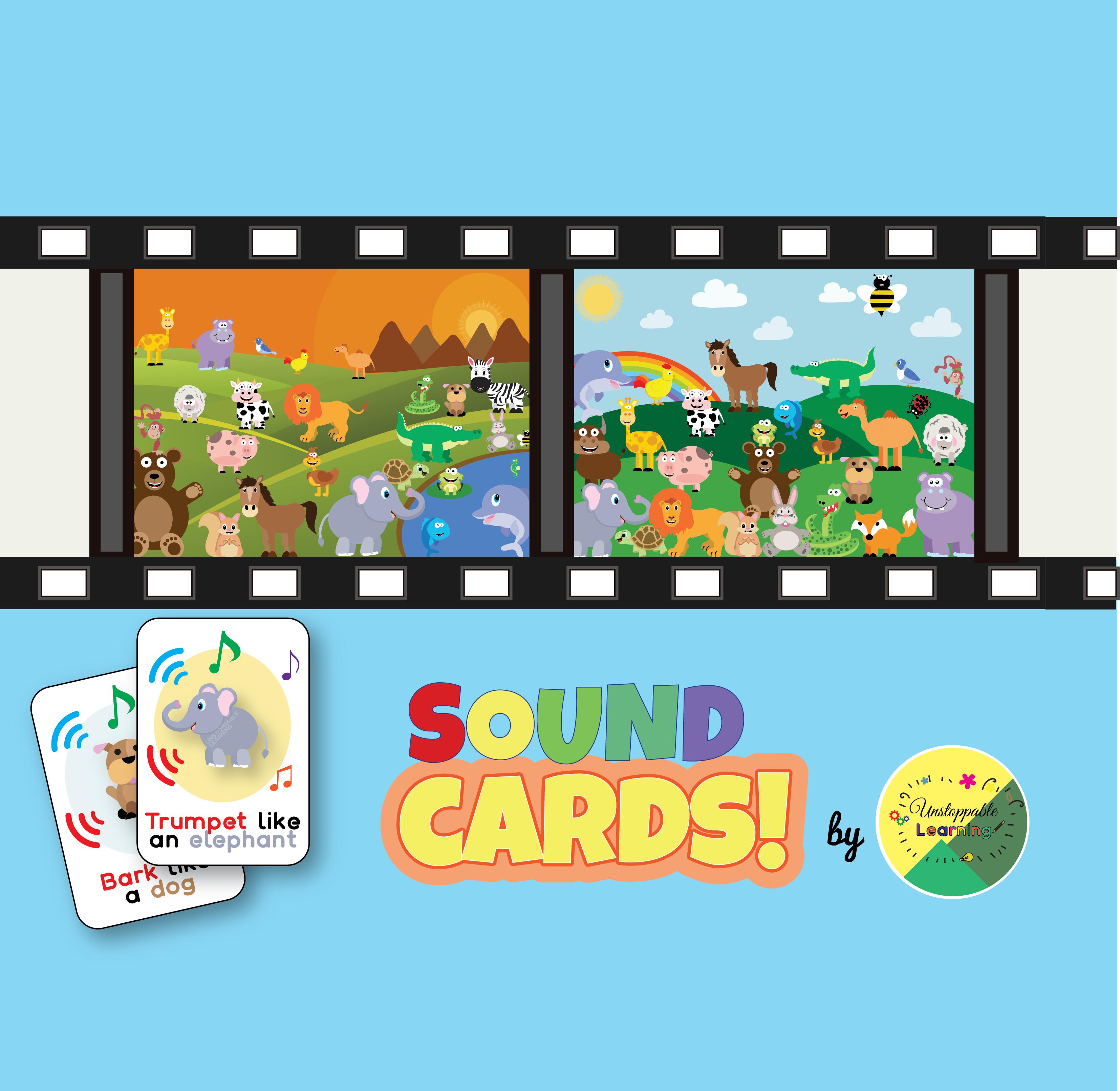 Animal movement and sound cards Animal movement, Animals