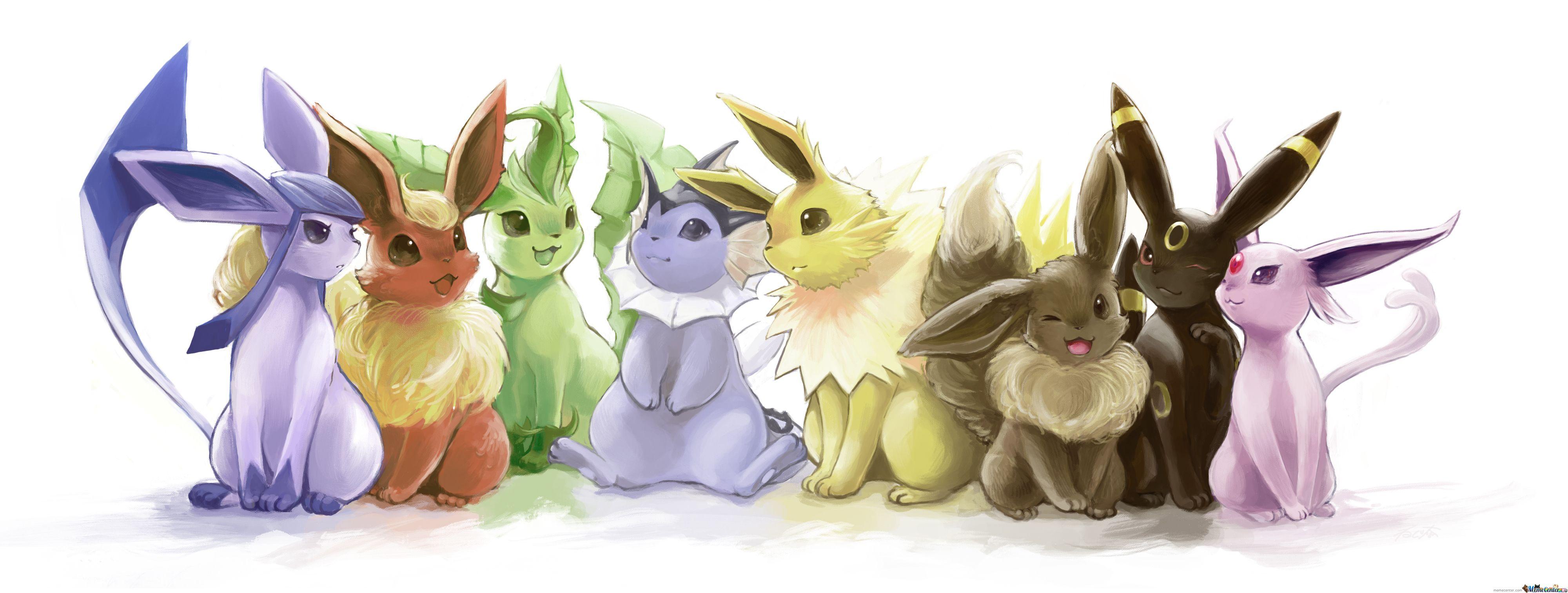Pin By Maggie Sheehan On Eeveelutions Cute Pokemon Wallpaper Pokemon Eevee Cute Pokemon