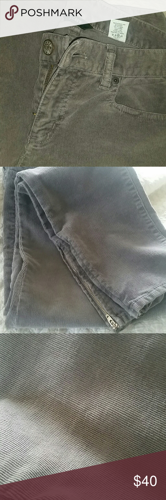 Adorable J.Crew courdory pants These pants are perfect for the season.Super skinny stretch cord pants.Great condition!?? J. Crew Pants Ankle & Cropped