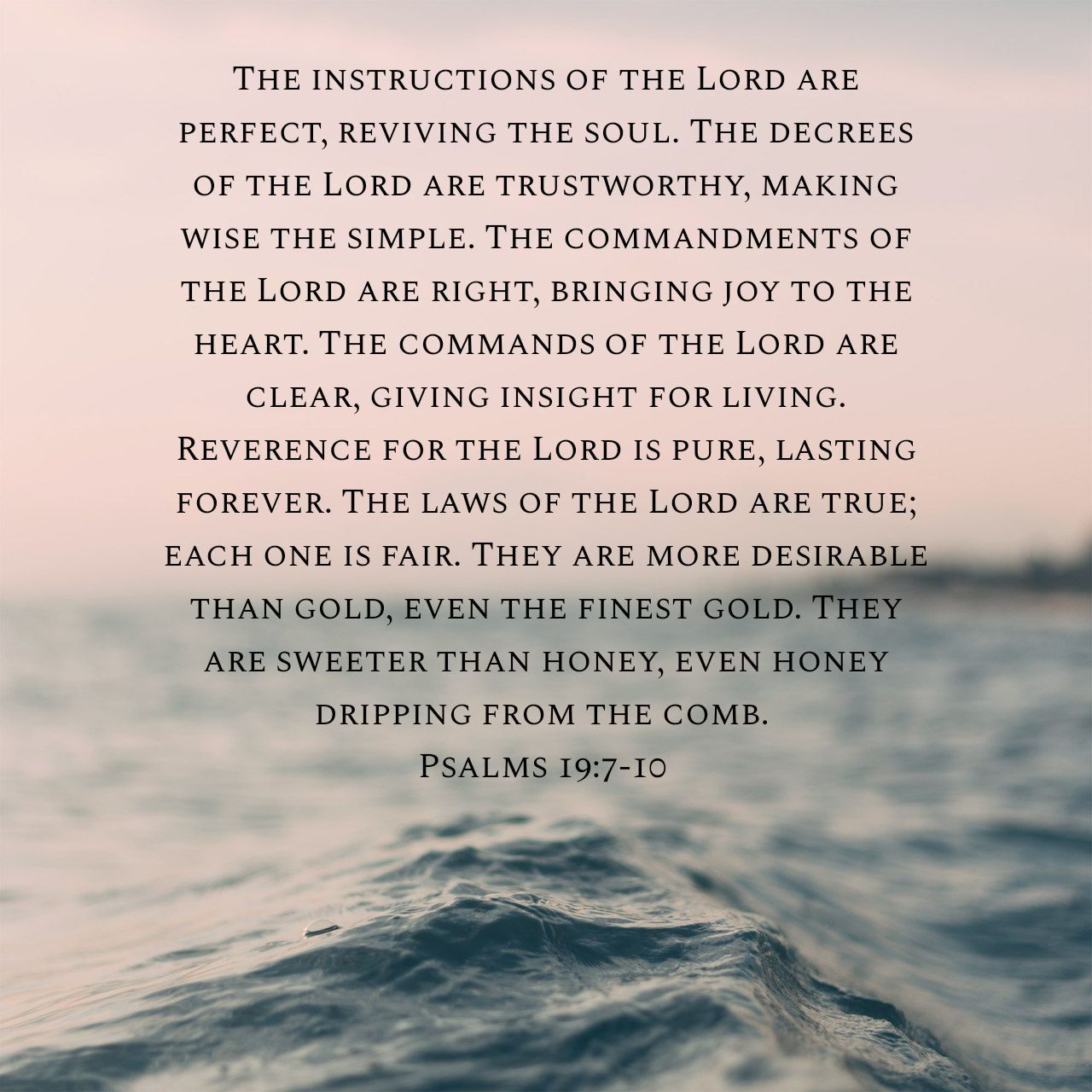 Psalm 19 7 10 Scripture Life 11 Nkjv