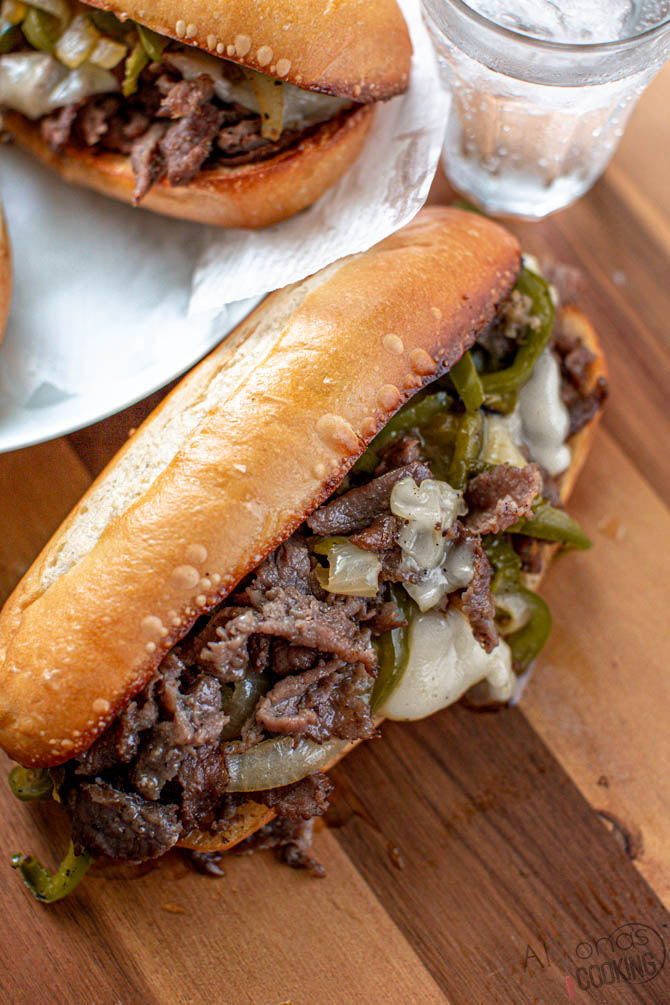 Philly Cheesesteak Recipe Alyona S Cooking Recipe In 2021 Beef Steak Recipes Shaved Beef Recipe Cheesesteak Recipe