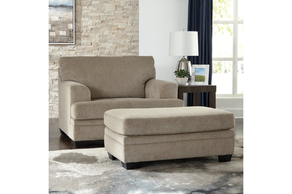 Dorsten Ottoman In 2020 Chair And A Half Chair And Ottoman Set