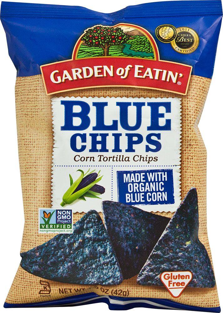Garden of Eatin Organic Blue Tortilla Chips Gluten Free 15 oz