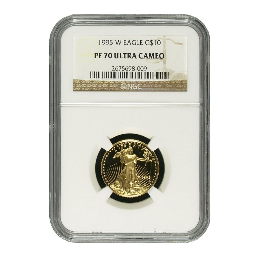 1995 W 1 4 Oz Gold Proof Eagle Ngc Pf 70 Gold American Eagle Eagle Ngc