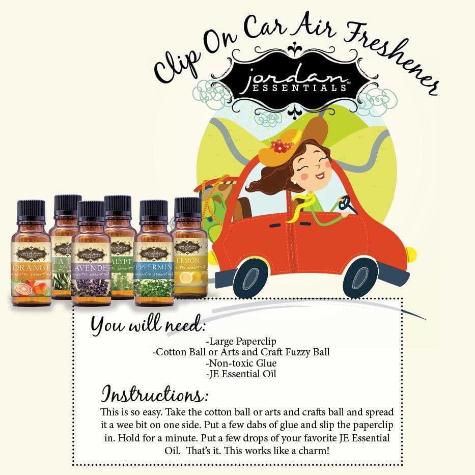 Air freshener with essential oils by Jordan Essentials